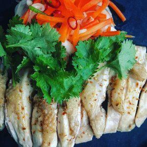 鶏むね肉のトムヤム塩グリル