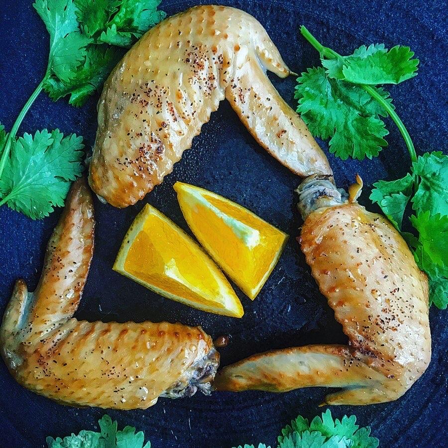 チキン手羽先のスモーク