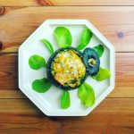 坊ちゃんカボチャの丸ごとチーズグラタン