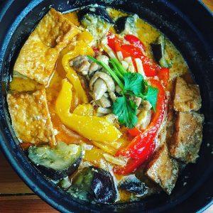 豆乳トムヤムクン鍋