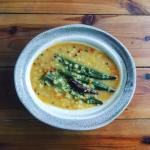 ムングダールの野菜カレースープ
