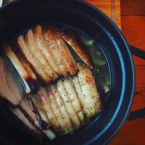 肉汁ポークたっぷりのタコス